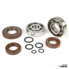 BGM Crankshaft Bearing & Oil Seal Set Vespa PT...