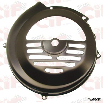 CIF Fan Cover Black Iron for Vespa 50 - 90 - 125 Primavera, PTS