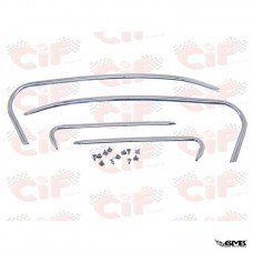 CIF Rear Hoods and Mudguard Alluminium Trim Set Ve...