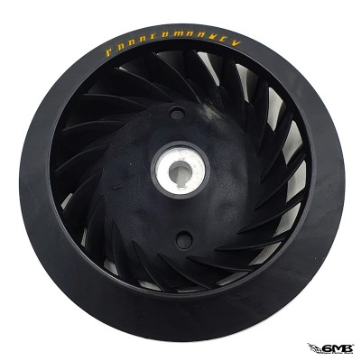 Copper Monkey Fan Wheel Black Vespa Sprint & Primavera 3v or I-get