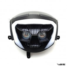 DMP Headlight Double Eyes Piaggio ZIP