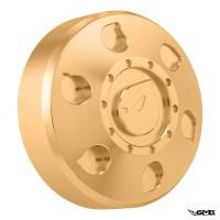 Marus Fuel Cap CNC All Modern Vespa Gold