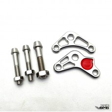 Marus Rear Shock Adaptor Silver Vespa Sprint &...