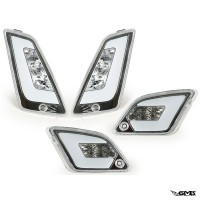 Power1 Indicator Front Rear Set for Vespa GTS Whit...
