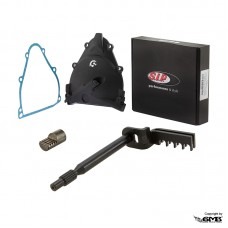 Clutch Cover SIP Black Vespa PTS(shaft and push ro...
