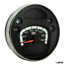 SIP Speedometer Vespa New PX (black face)